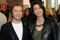 Евгений Миронов и Ольга Слуцкер