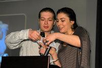 Петр Гланц и Инна Королева