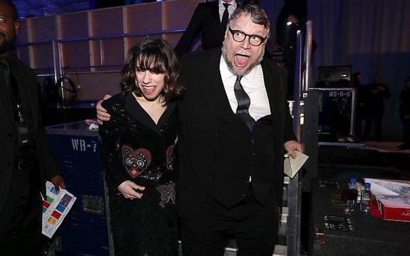 Салли Хокинс и Гильермо дель Торо / Фото: Getty Images