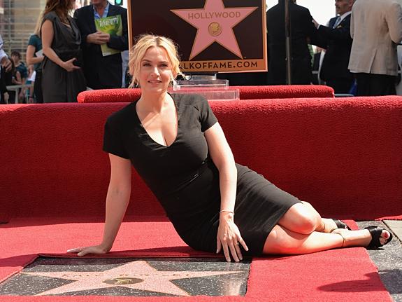 Кейт Уинслет получила звезду на «Аллее славы»
