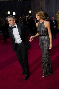 Джордж Клуни и Стэйси Кейблер