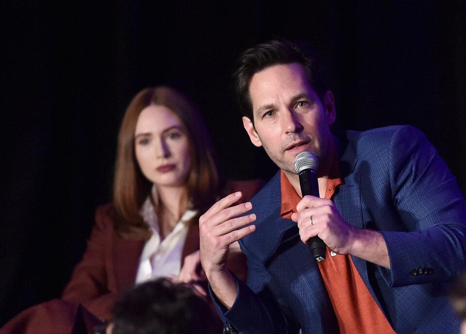 Пол Радд и Карен Гиллан / Фото: Getty Images for Marvel