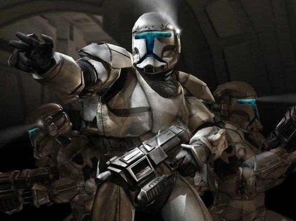Арт из игры «Republic Commando»