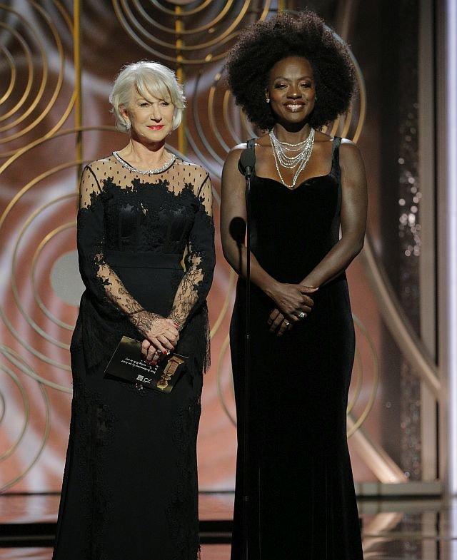 Хелен Миррен и Виола Дэвис / Фото: Getty Images