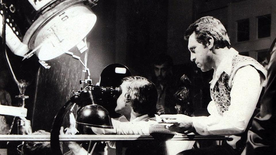 На съемках фильма «Место встречи изменить нельзя»
