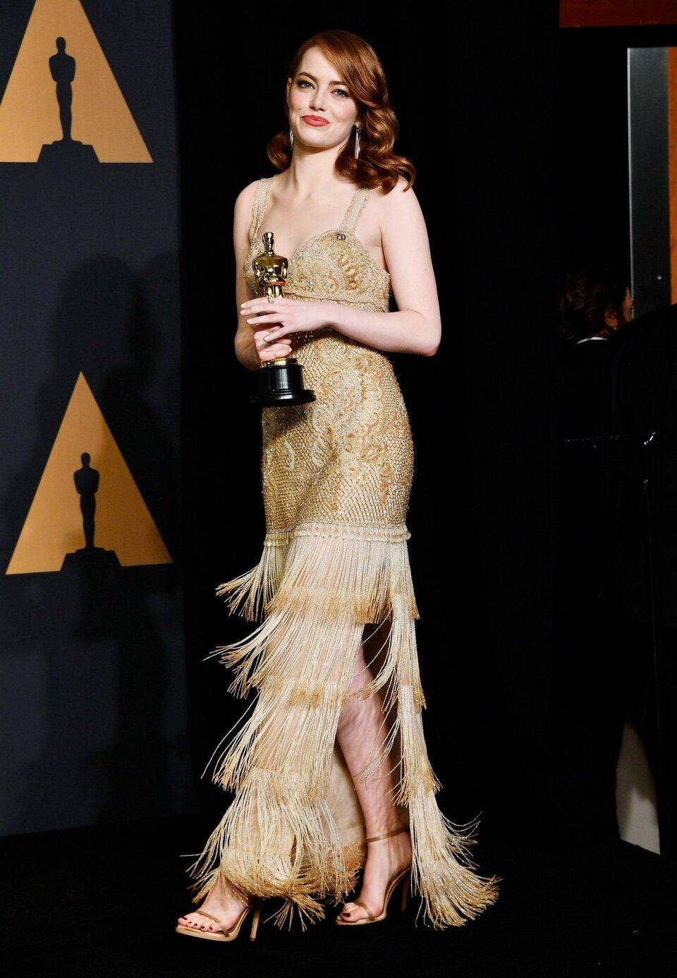 Эмма Стоун на «Оскаре-2017» / Фото: Getty Images