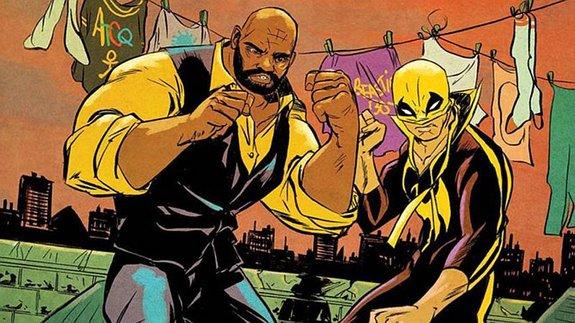 Фрагмент комикса Дэвида Уокера «Силач иЖелезный Кулак»/ Иллюстрация: Marvel