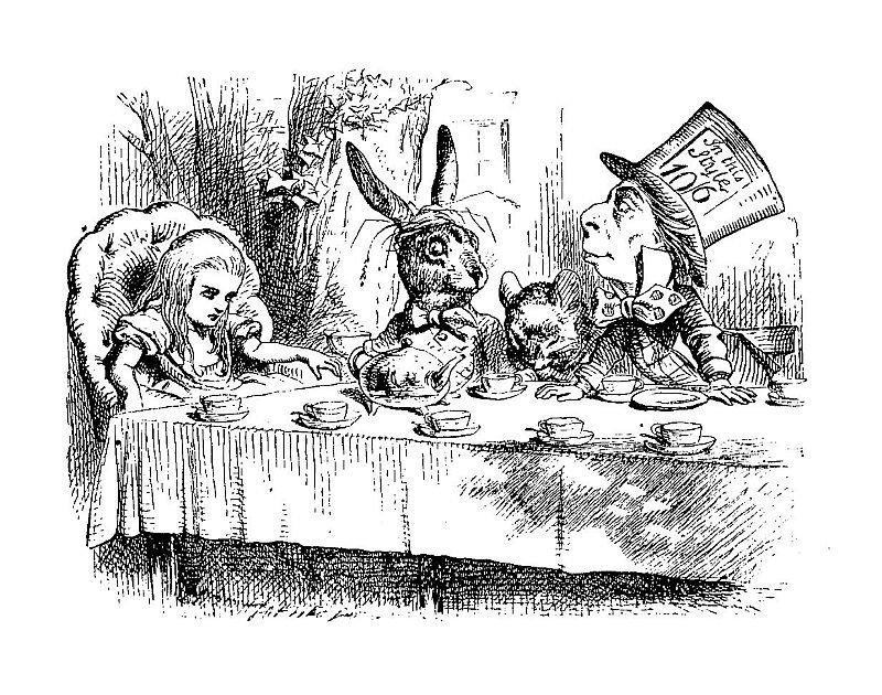 Иллюстрация Джона Тенниела к«Алисе вСтране чудес»