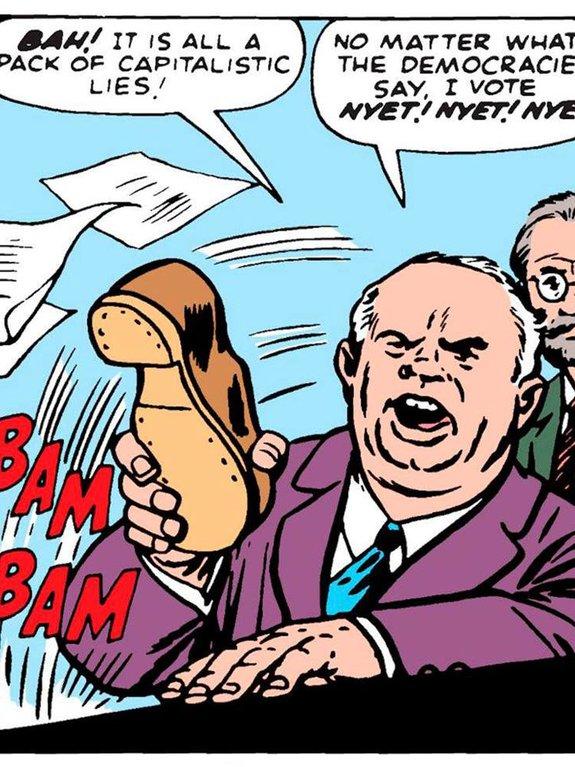 Комикс Fantastic Four Annual №1 / художник: Джек Кёрби