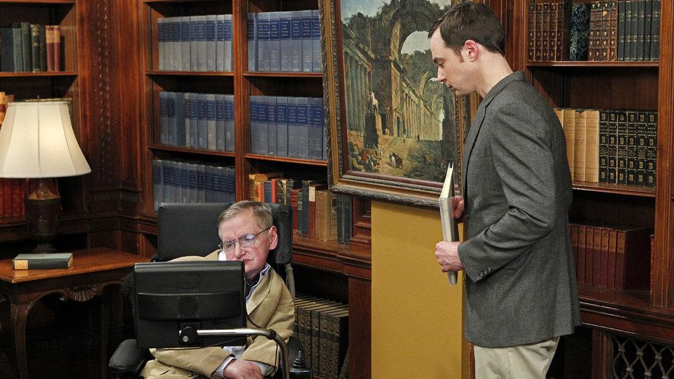 Стивен Хокинг в сериале «Теория большого взрыва»