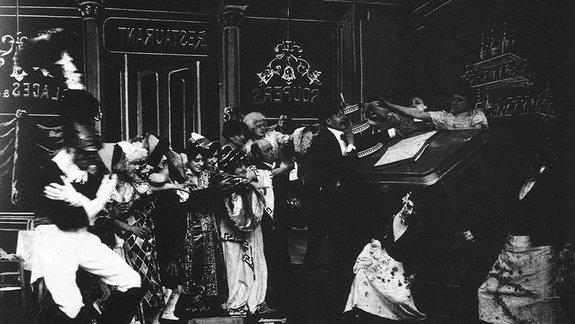 Кадр из фильма Жоржа Мельесе Nuit de carnaval (1922)