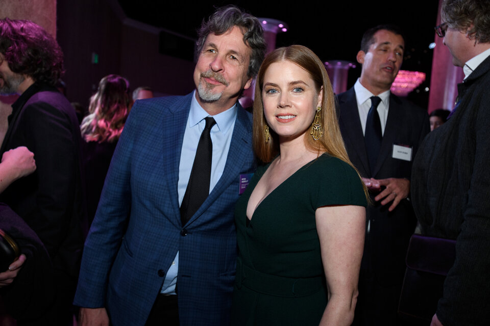 Питер Фаррелли и Эми Адамс / Фото: A.M.P.A.S.