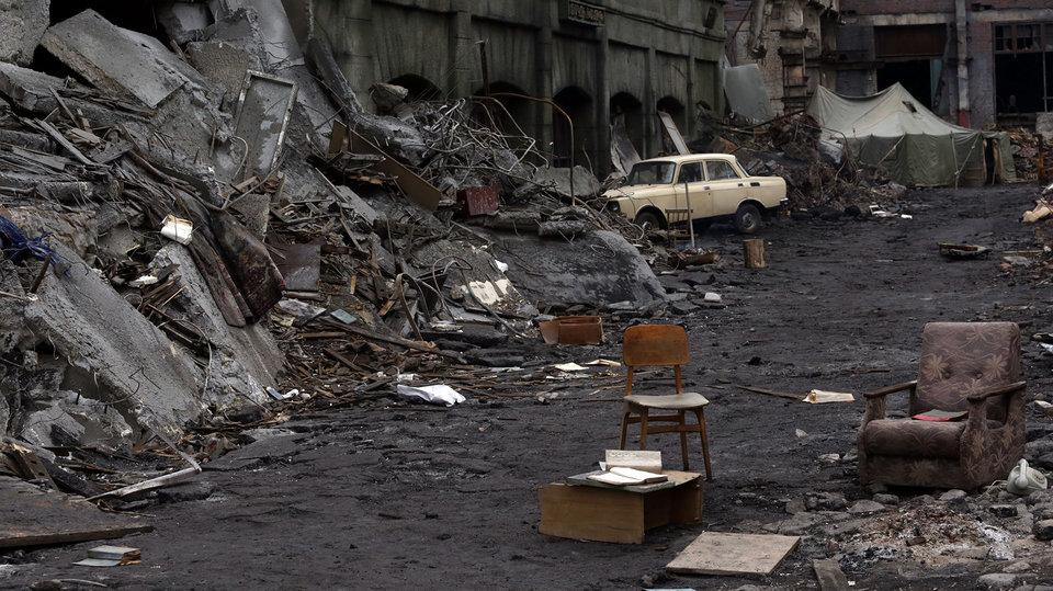 Кадр из фильма «Землетрясение» / Фото: Кинокомпания «Марс Медиа»