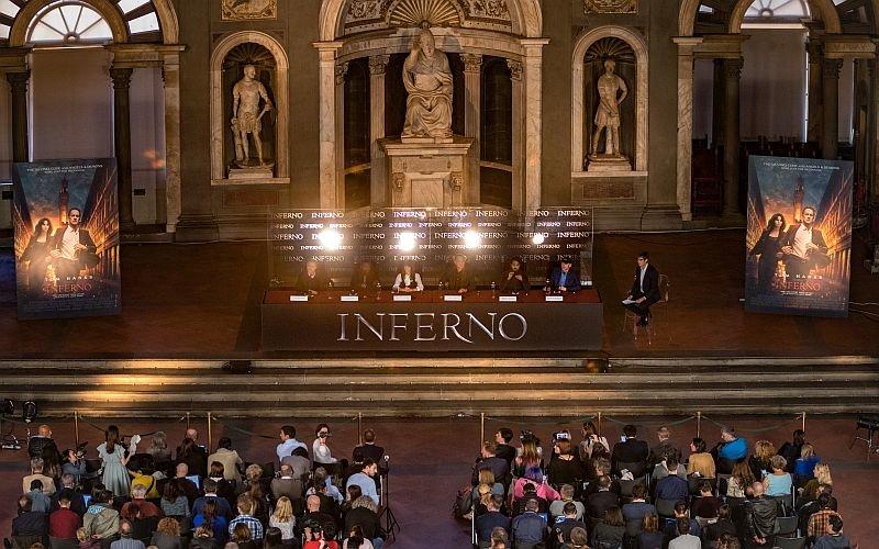 Пресс-конференция «Инферно» во Флоренции / Фото: Getty Images