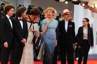 Члены жюри 74-го Венецианского кинофестиваля / Фото: Надежда Вознесенская для КиноПоиска