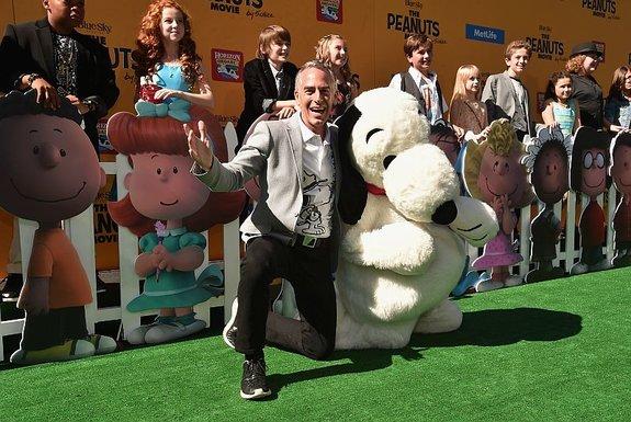 Стив Мартино на премьере своего фильма