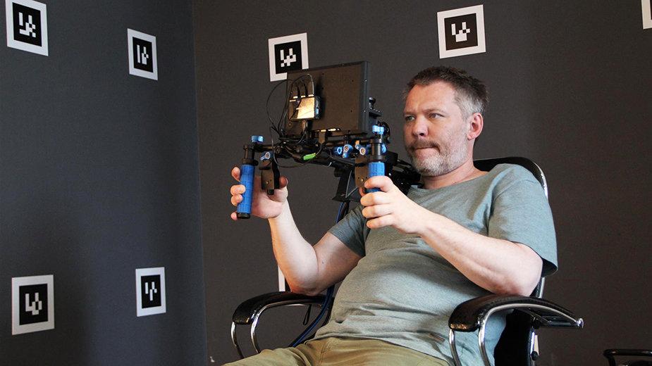 Оператор Владимир Башта выстраивает 3D-сцену для фильма «Конек-горбунок» в системе ViewGa