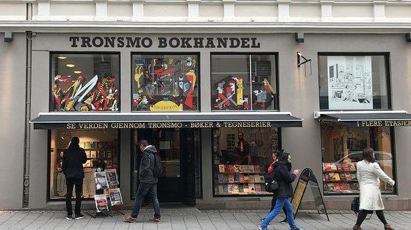 Один из старейших книжных магазинов Осло / Фото: КиноПоиск