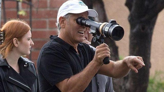 Джордж Клуни насъемках «Субурбикона»