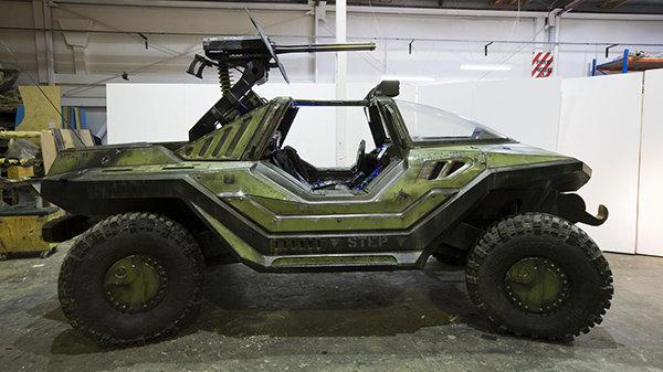 Прототип автомобиля из игры Halo, созданный специалистами по спецэффектам из Weta
