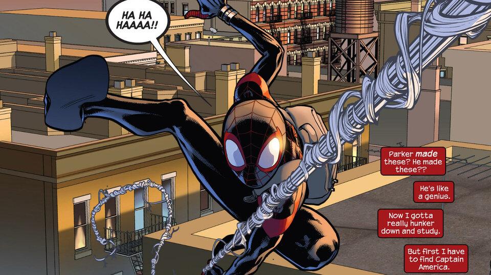 Фрагмент комикса «Ultimate Comics Spider-Man» (2011)