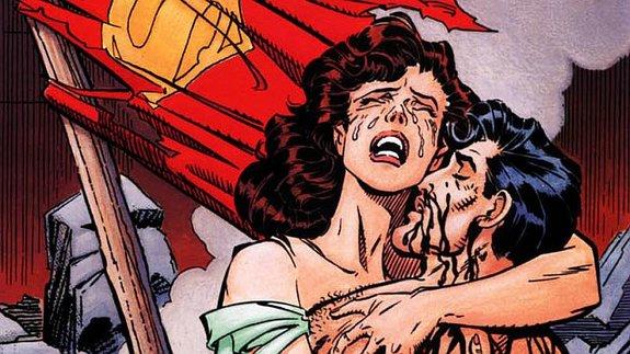 Фрагмент обложки комикса «Смерть Супермена»/ Иллюстрация: DC