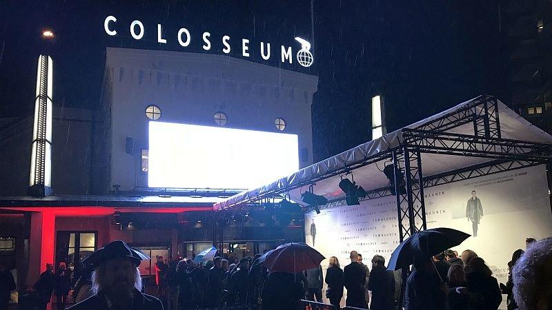 Премьера «Снеговика» в Осло прошла под проливным дождем/ Фото: КиноПоиск
