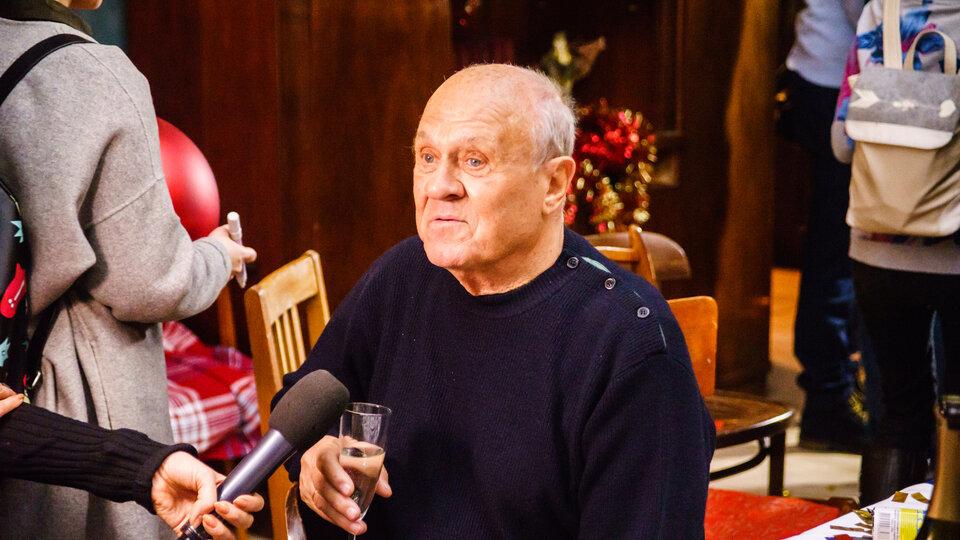 Владимир Меньшов на съемочной площадке «Елок последних» / Фото: Олег Яковлев для КиноПоиска