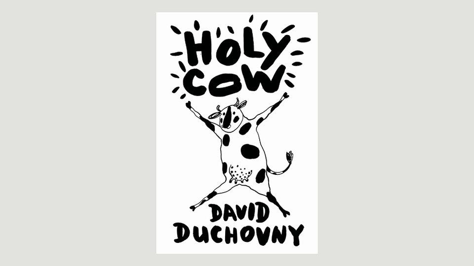 Обложка книги Дэвида Духовны
