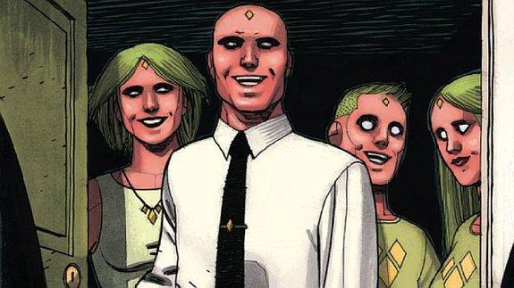 Вижн и его семья / Иллюстрация: Издательство Marvel