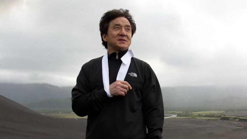 """Джеки Чан на съемках фильма «Доспехи бога 3: Миссия """"Зодиак""""»"""