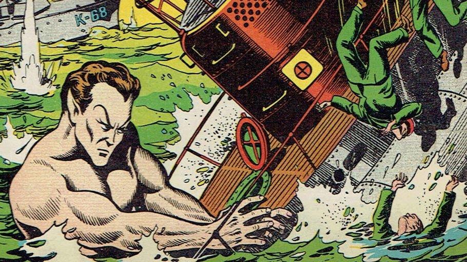 Подводник на обложке комиксов в августе 1940 года / Иллюстрация: Marvel