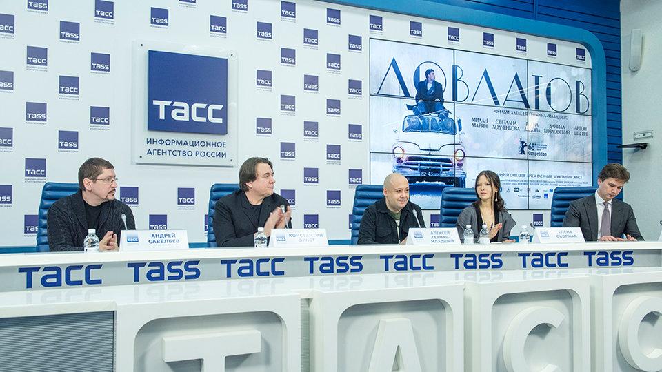 Пресс-конференция фильма «Довлатов» / Фото: Элен Нелидова для КиноПоиска