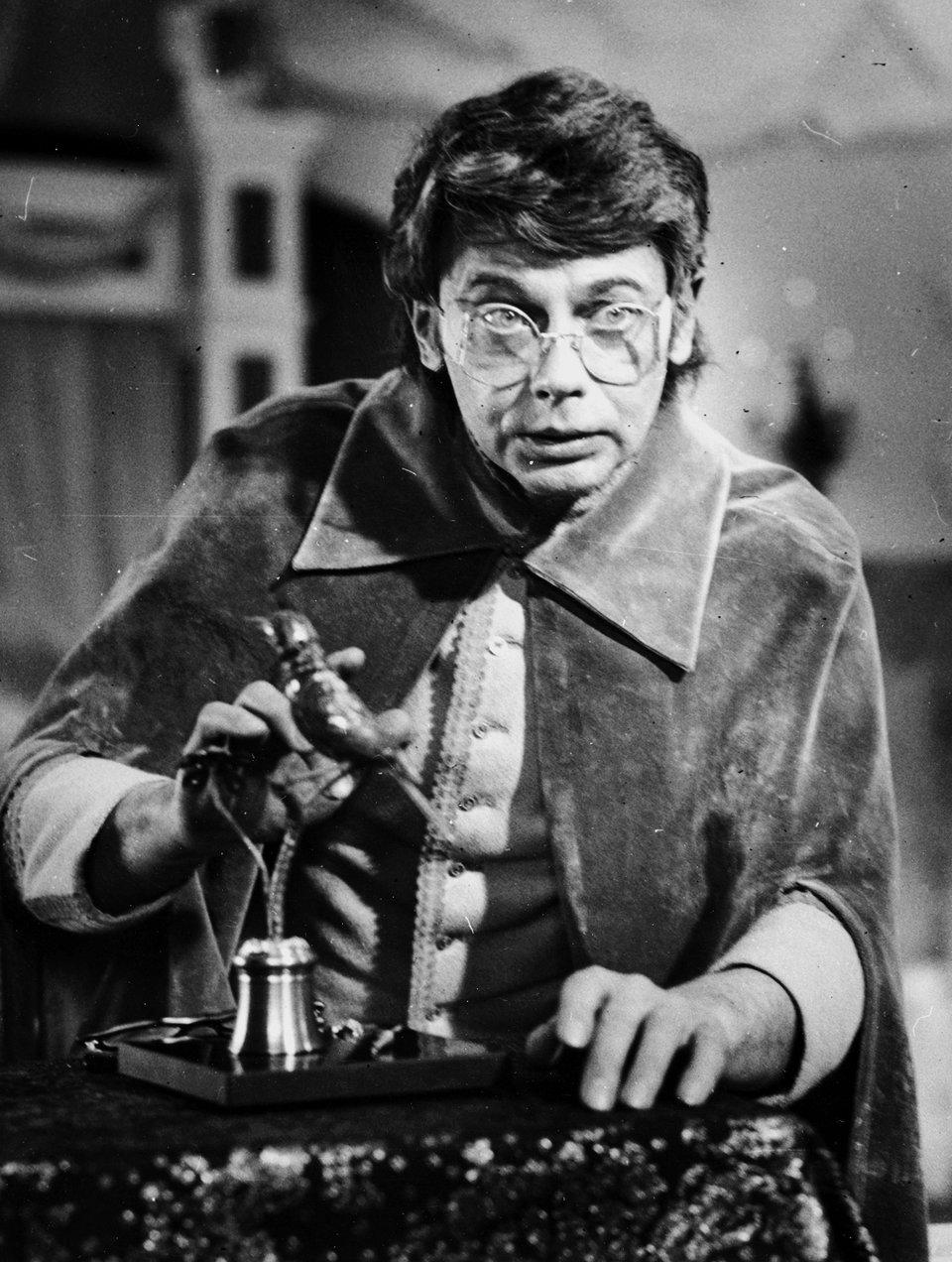 Александр Демьяненко на съемках фильма «Соловей». 1979 год / Фото: Самоэля Кацева