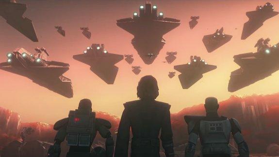 Трейлер сериала «Звездные войны: Войны клонов»: Анакин вернулся
