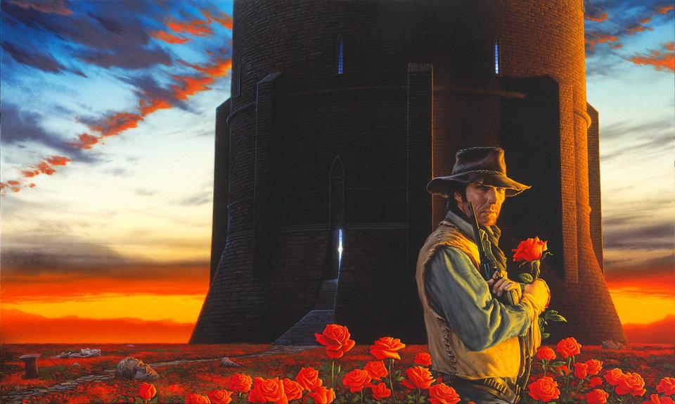 Иллюстрации к книге «Темная башня» Майкла Уэлана