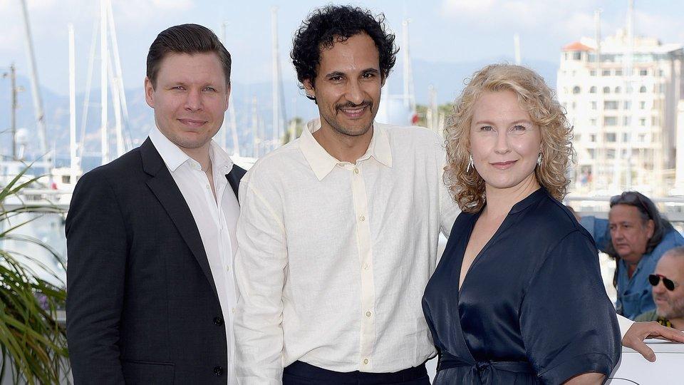 Ээро Милонофф, Али Аббаси и Ева Меландер / Фото: Getty Images