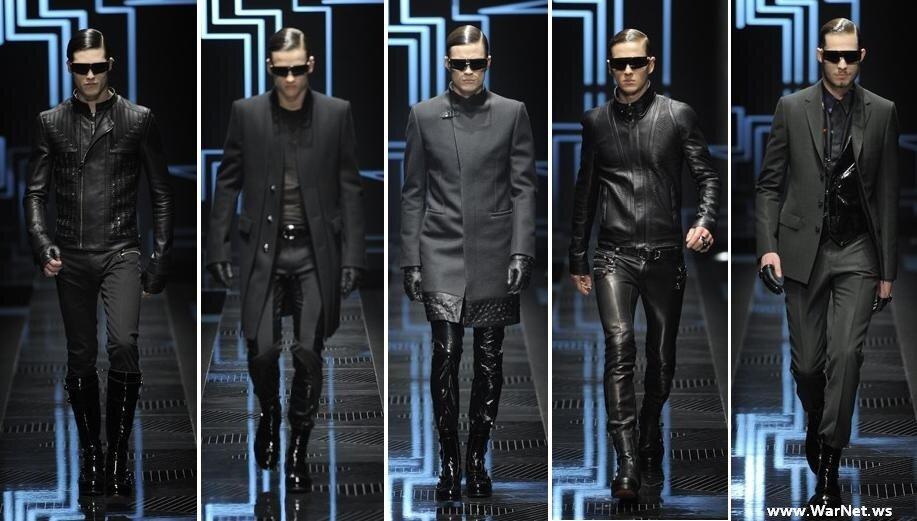 Показ коллекции Versace 2010-2011