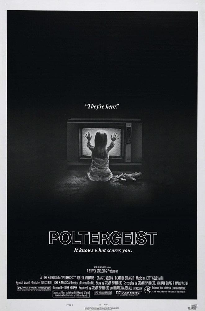 Постер фильма «Полтергейст» (1982)