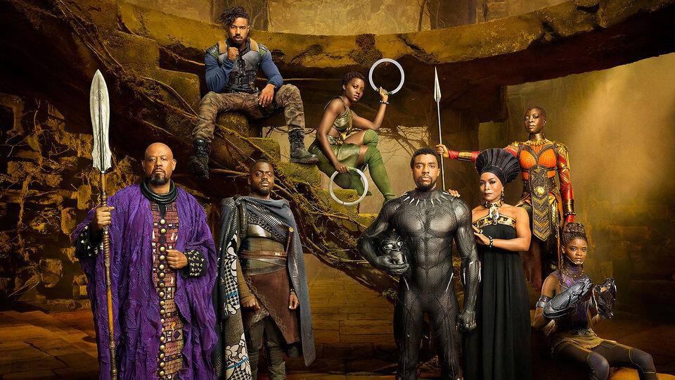 Промо постер фильма «Черная Пантера»