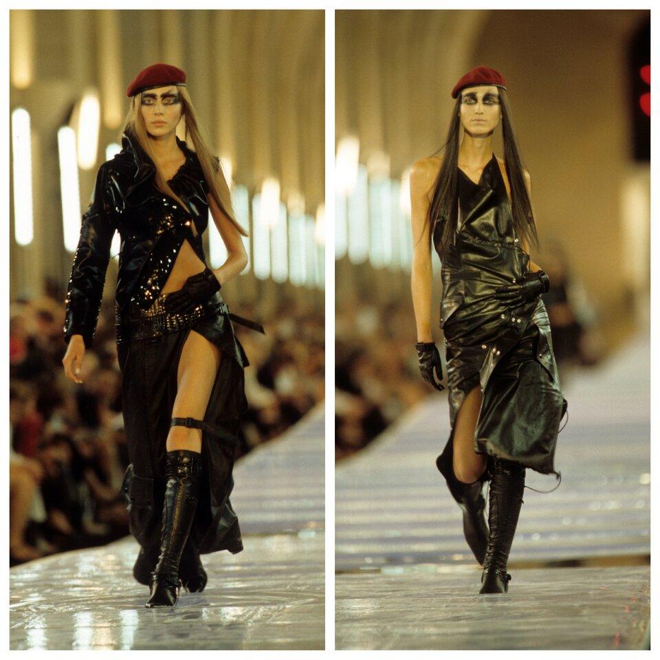 Показ коллекции Dior Haute Couture-1999