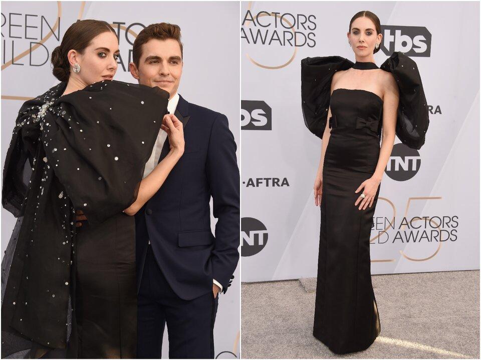 Элисон Бри с мужем / Фото: Getty Images