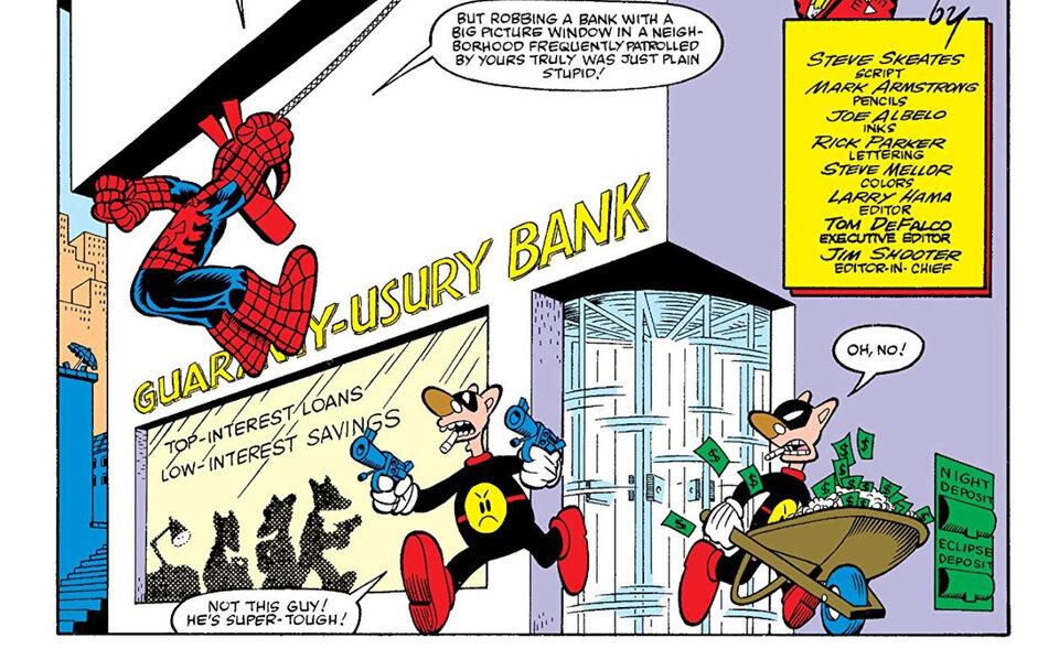 Фрагмент комикса «Spider Ham»