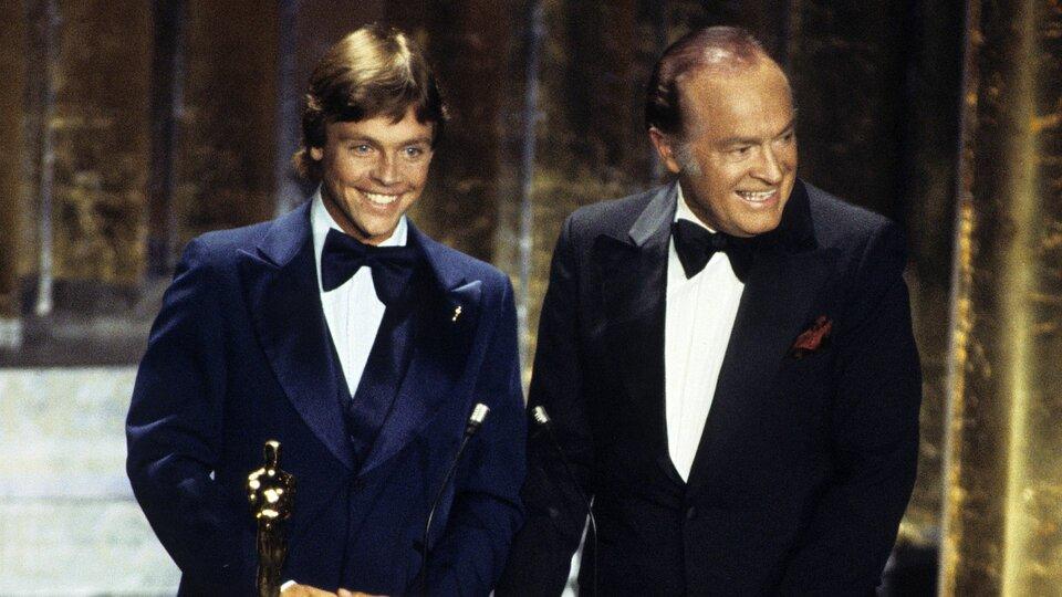 Марк Хэмилл иБоб Хоуп нацеремонии вручения премий «Оскар» в1978 году / Фото: Getty Images
