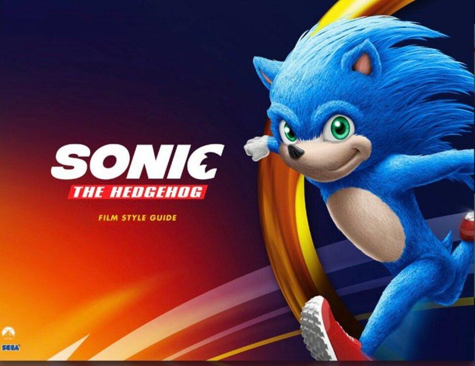 Фото: Sonic The Hedgehog Film Style Guide