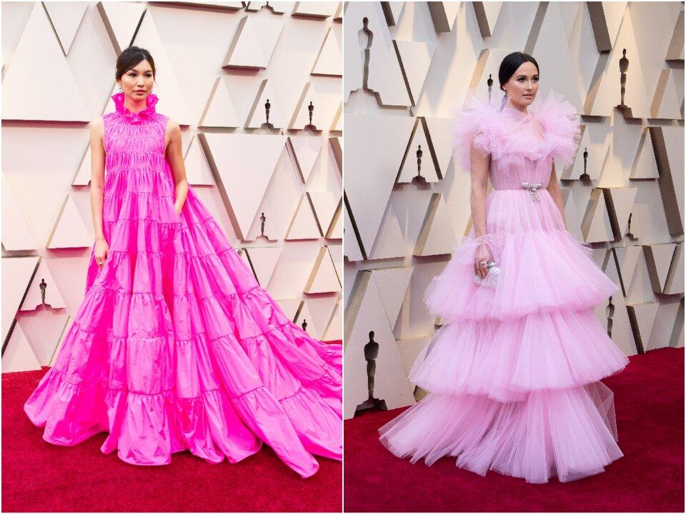 Джемма Чан и Кейси Масгрейвс на «Оскаре-2019» / Фото: ©A.M.P.A.S.