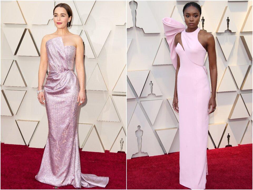 Эмилия Кларк и Кики Лэйн на «Оскаре-2019» / Фото: ©A.M.P.A.S.