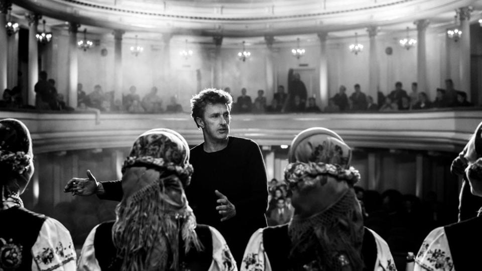 Павел Павликовский на съемках фильма «Холодная война»