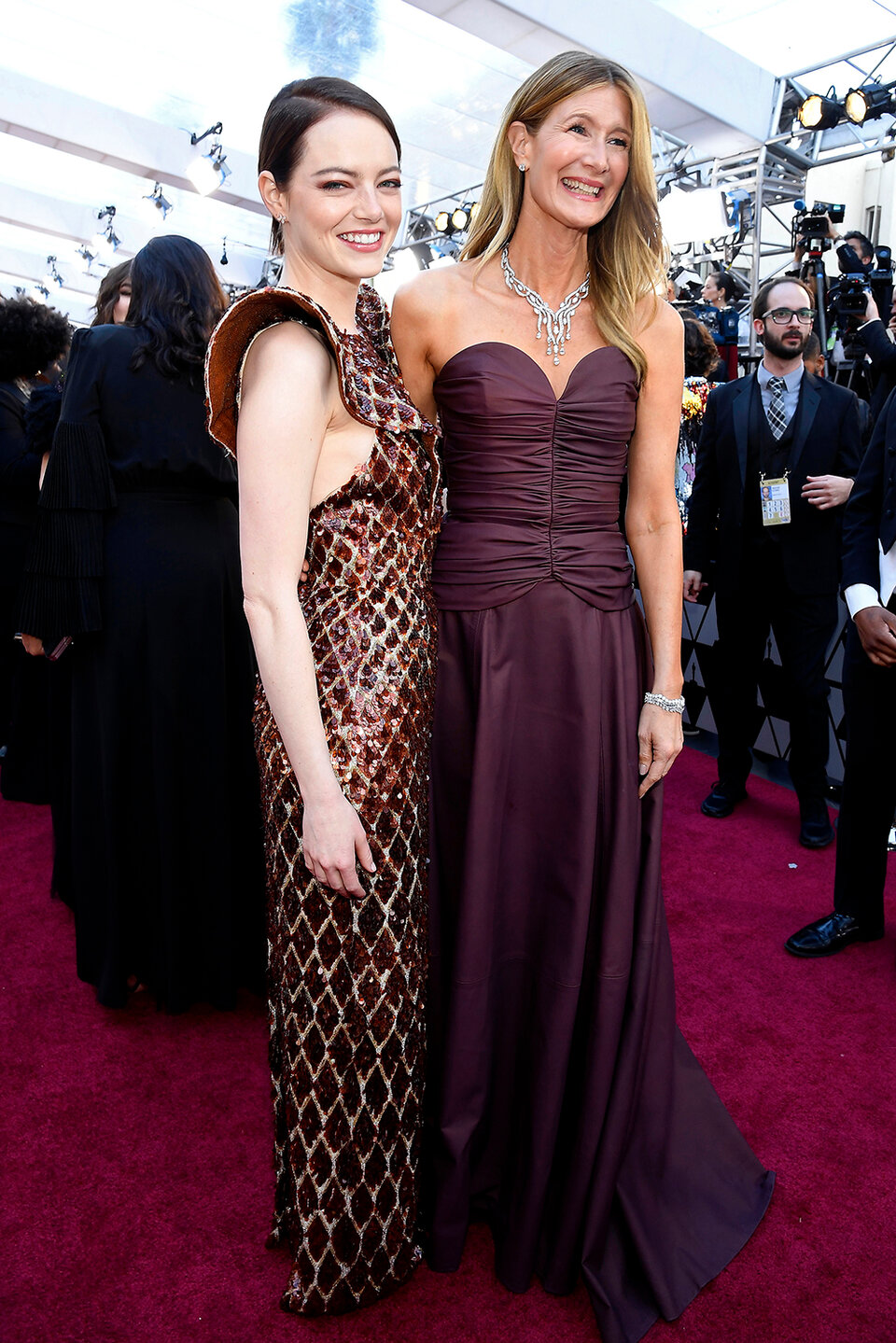 Эмма Стоун и Лора Дерн / Фото: Getty Images