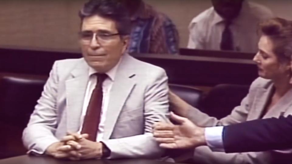 Джон Генри Карпентер в зале суда 1 ноября 1994 года
